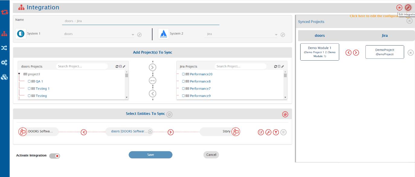 IBM Doors-Jira integration