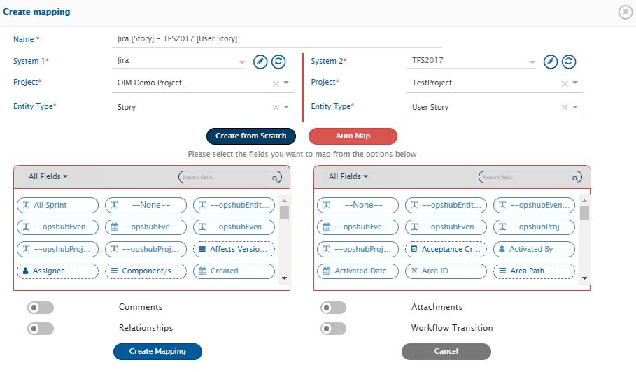 OpsHub Integration Manager