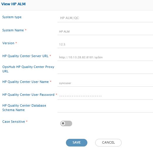 configure Jira and Micro Focus ALM