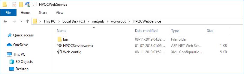 IIS directory